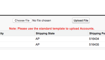 Import CSV file In Salesforce using Apex – Jayakrishna